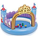 """Игровой бассейн с шариками """"Волшебный замок"""", 130х91см"""