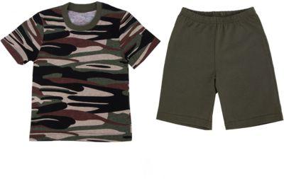 Пижама для мальчика Апрель - зеленый