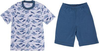 Пижама для мальчика Апрель - синий