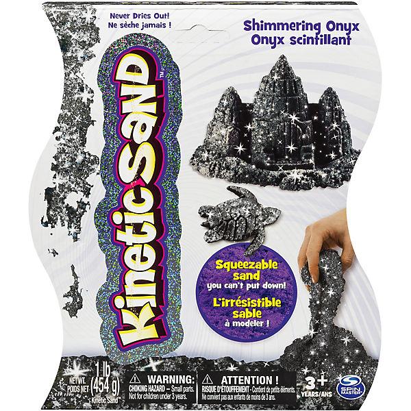"""Песок для лепки Kinetic sand """"Драгоценные камни - оникс"""", 455гр"""