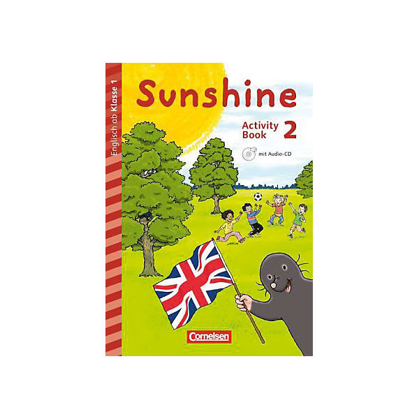 Sunshine - Early Start Edition (Neubearbeitung): 2. Schuljahr - Activity Book mit Audio-CD