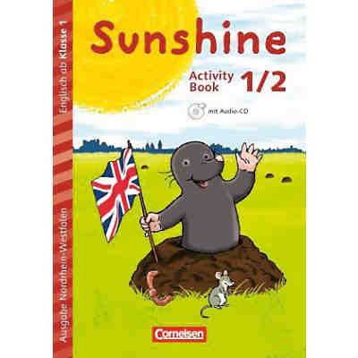 Sunshine - Early Start Edition (Nordrhein-Westfalen): 1./2. Schuljahr, Activity Book mit Audio-CD