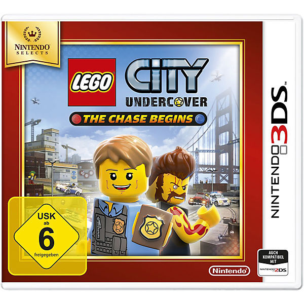 3DS Lego City Undercover: The Chase Begins Selects