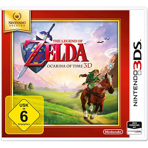 3DS The Legend of Zelda: Ocarina of Time 3D Selects