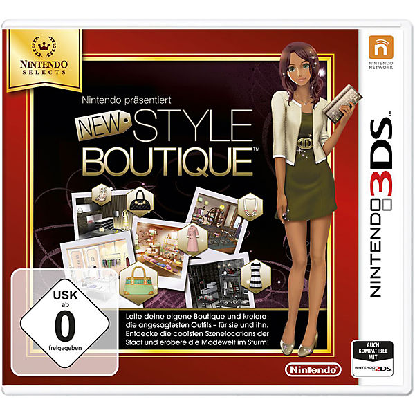 3DS New Style Boutique Selects