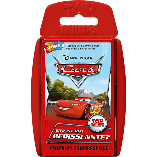 Top Trumps Disney Cars