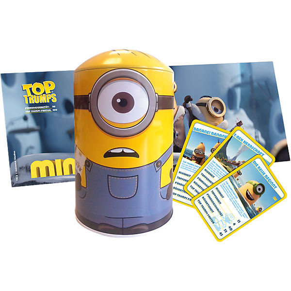 Top Trumps Minions Tin
