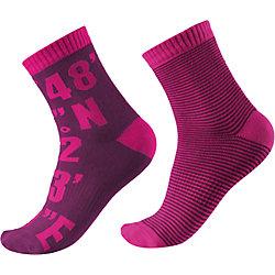 Носки Kloppi для девочки, 2 пары Reima