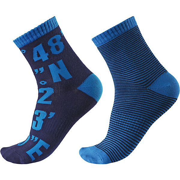 Носки Kloppi для мальчика, 2 пары Reima
