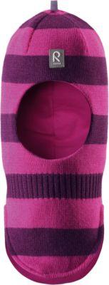 Шапка-шлем Starrie для девочки Reima - фиолетово-розовый