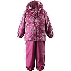 Непромокаемый комплект: куртка и брюки Kupla для девочки Reima
