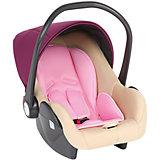 Автокресло Baby Leader Comfort, 0-13 кг., Leader kids, бежевый/розовый