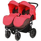 Прогулочная коляска для двойни ExspressDuo, Mobility One, красный