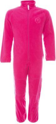 Комбинезон флисовый Kraz для девочки Reima - розовый