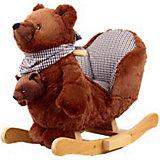 Качалка меховая Медведь, Rock My Baby
