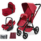 Коляска 3 в 1 Wanderer Mobility Set, Concord, Ruby Red 2015