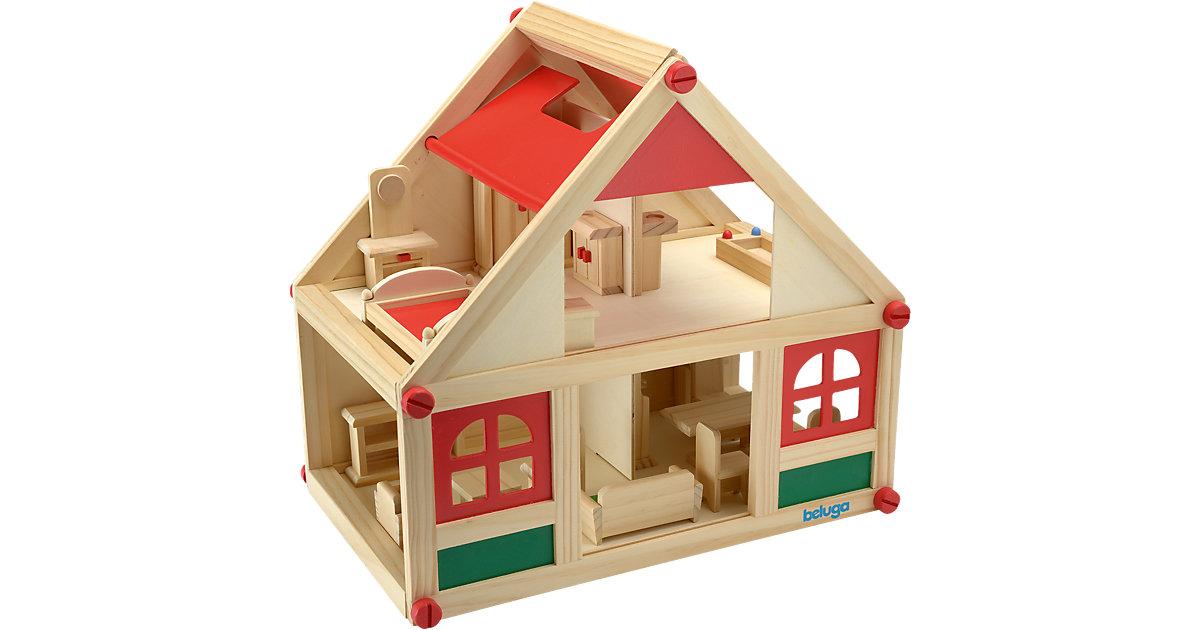 puppenhaus komplett preisvergleich die besten angebote. Black Bedroom Furniture Sets. Home Design Ideas