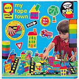 """Набор для поделок из цветной клейкой ленты """"Город"""", ALEX"""
