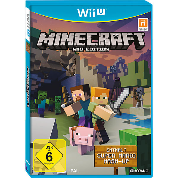 Wii U Minecraft Edition, inkl. Super Mario Mash-Up