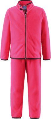 Комплект флисовый для девочки LASSIE - розовый