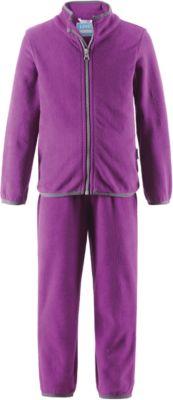 Комплект флисовый для девочки LASSIE - фиолетовый