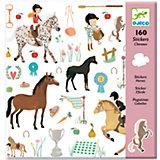 """160 наклееек """"Лошади"""""""
