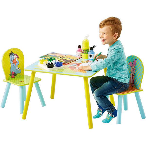 kindersitzgruppe 3 tlg tigger winnie the pooh disney winnie puuh mytoys. Black Bedroom Furniture Sets. Home Design Ideas