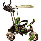 Велосипед трехколесный, зеленый, MARS TRIKE