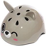 Шлем Зайка Банни, серый, REXCO