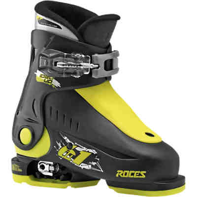 Skischuhe Idea up black-lime Gr. 25-29