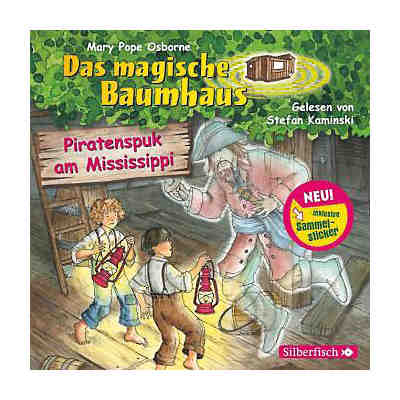 Das magische Baumhaus: Piratenspuk am Mississippi, 1 Audio-CD