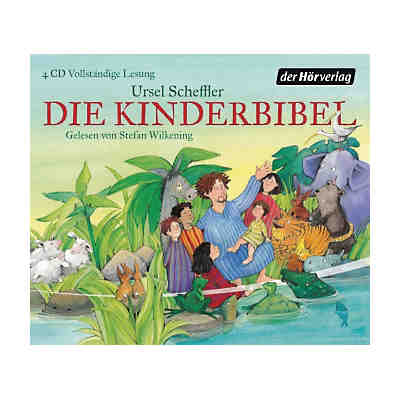 Die Kinderbibel, 4 Audio-CDs