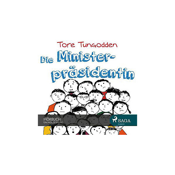 Die Ministerpräsidentin, 1 MP3-CD