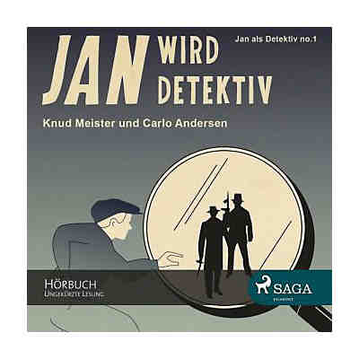Jan wird Detektiv, 1 MP3-CD