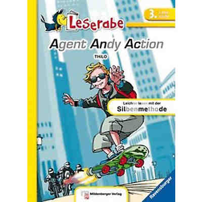 Leserabe 3: Agent Andy Action