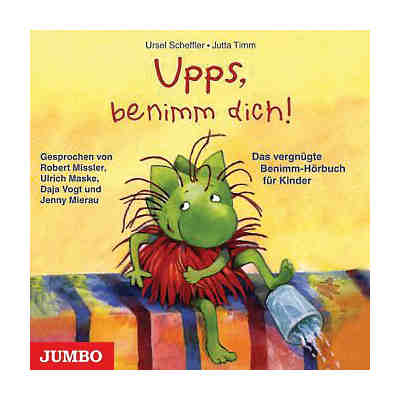 Upps, Benimm dich! 1 Audio-CD