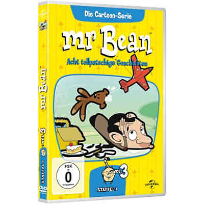 DVD Mr. Bean - Die Cartoon-Serie - Season 1 - Vol. 3