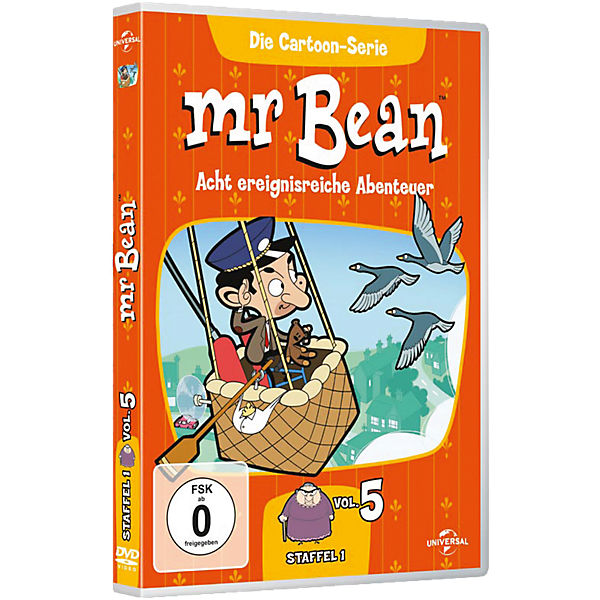 DVD Mr. Bean - Die Cartoon-Serie - Season 1 - Vol. 5