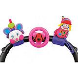 Набор игрушек для коляски: гусеничка, руль, телефон, K's Kids