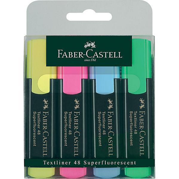 Маркеры , 4 шт., Faber-Castell