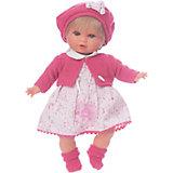 Кукла Кристиана в малиновом, 30 см, Munecas Antonio Juan