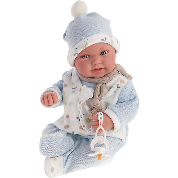 Кукла Камилло в голубом, 40 см, Munecas Antonio Juan