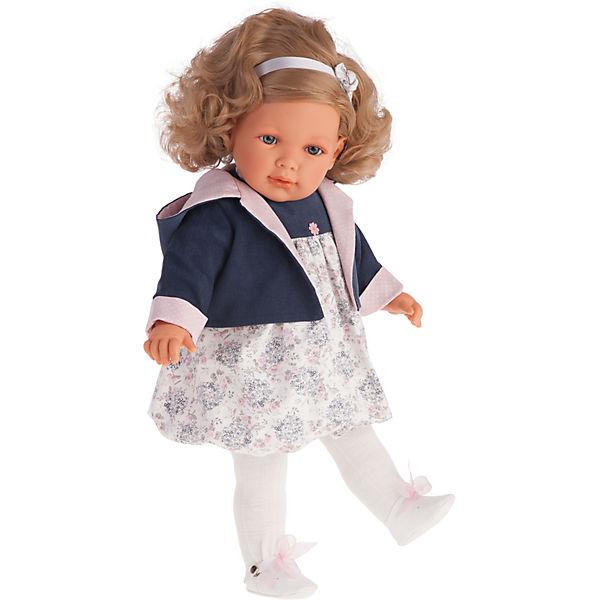 Кукла Аделина в синем, 55 см, Munecas Antonio Juan