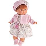 Кукла Кристиана в розовом, 30 см, Munecas Antonio Juan