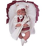 Кукла Рамона в гранатовом, 40см , Munecas Antonio Juan