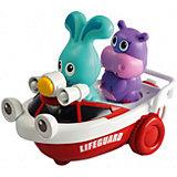 Развивающая игрушка спасатель Бани на катере, Ouaps