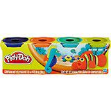 Пластилин в 4-х банках, #2, Play-Doh