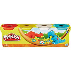 Пластилин в 4-х банках, #3, Play-Doh