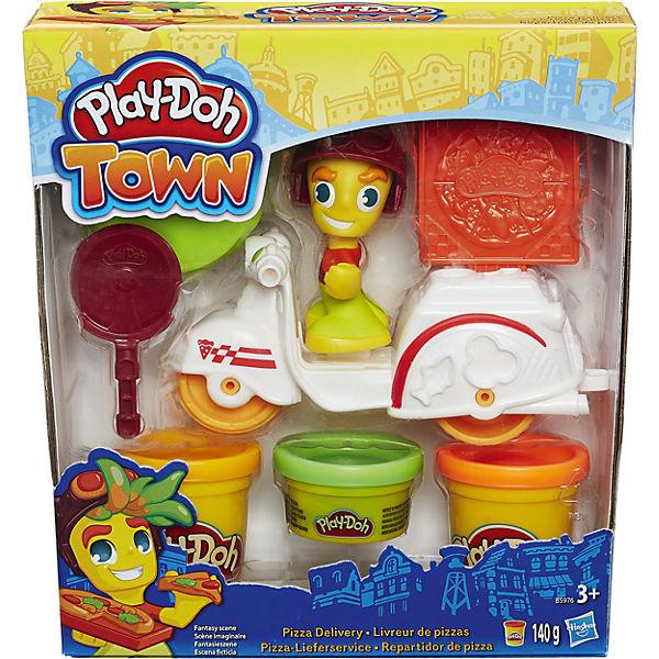 """Игровой набор """"Транспортные средства"""", #1 (белый), Play-Doh Город"""