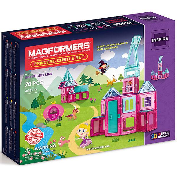 Магнитный конструктор Princess castle, MAGFORMERS